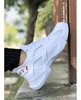 Boy Uzatan Ayakkabı Beyaz  Spor Model