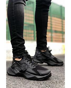 Boy Uzatan Ayakkabı Siyah Mekanik  Spor Model