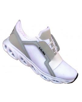 Boy Uzatan Ayakkabı Spor Beyaz Fileli Model