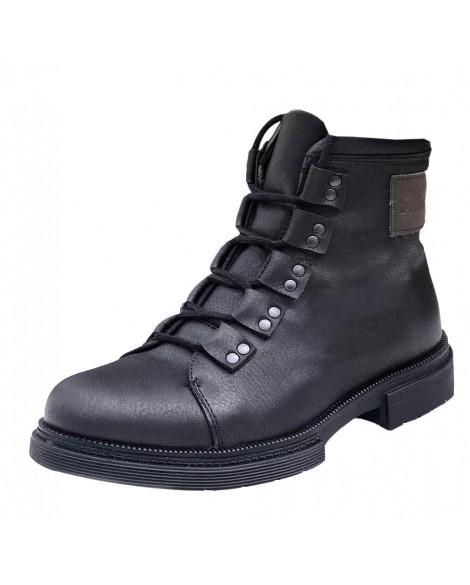 Boy Uzatan Ayakkabı Yeni Sezon Siyah Kışlık