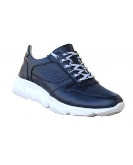 Gizli Topuk Lacivert Spor Ayakkabı