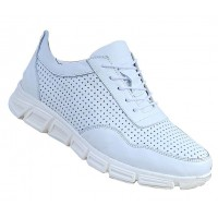 Boy Uzatan Ayakkabı Erkek Spor Model Beyaz