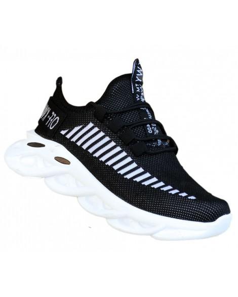 Boy Uzatan Ayakkabı Kışlık Yarım Bot Siyah