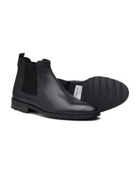 Boy Uzatan Ayakkabı  Kışlık Bot Siyah