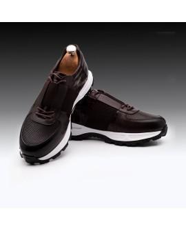 Boy Uzatan Ayakkabı Kahverengi