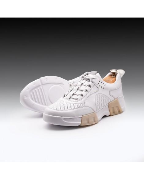 Boy Uzatan Ayakkabı Beyaz