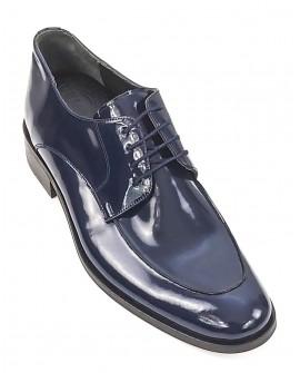 Lacivert Boy Uzatan Ayakkabı Damat Ayakkabısı