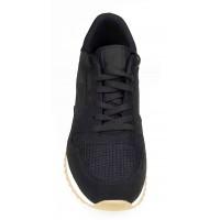 Boy Uzatan Ayakkabı Spor Siyah Fileli