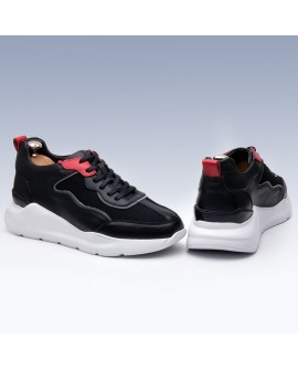 Boy Uzatan Ayakkabı Siyah&Beyaz Yalık Model
