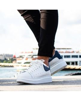 Boy Uzatan Spor Ayakkabı Beyaz Model Yazlık