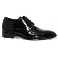Rugan Özel Baskılı Ayakkabı Damatlık Ayakkabı