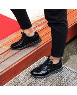 Boy Uzatan Ayakkabı Rugan Deri  Model