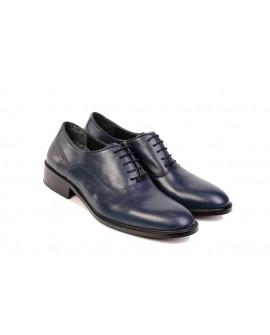Boy Uzatan Damat Ayakkabısı Lacivert Model