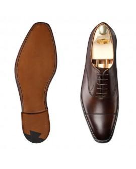 Damatlık Ayakkabı boy uzatan model koyu kahverengi