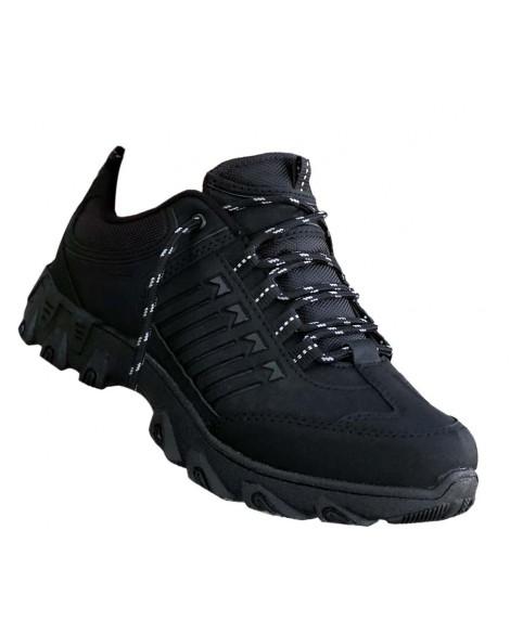 Boy Uzatan Ayakkabı Siyah Askeri Bot