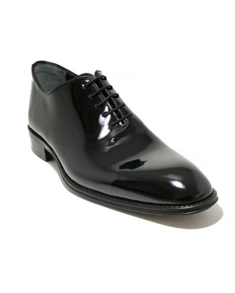 Özel Tasarım Tek Parça Lazer Kesim Rugan Vip Ayakkabı