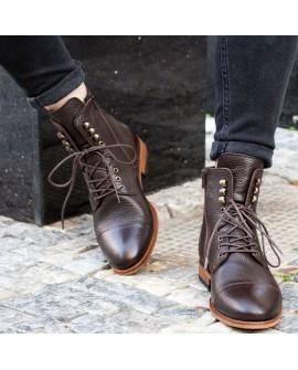 Boy Uzatan Ayakkabı  Kışlık Bot Siyah Postal Model