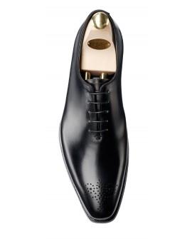 Boy uzatan ayakkabı siyah dana derisi