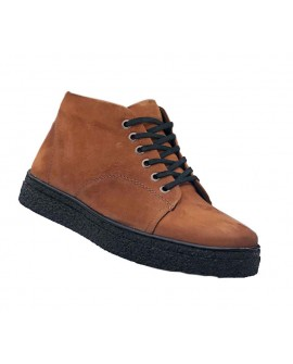 Boy Uzatan Ayakkabı Açık Kahverengi +7 Cm.