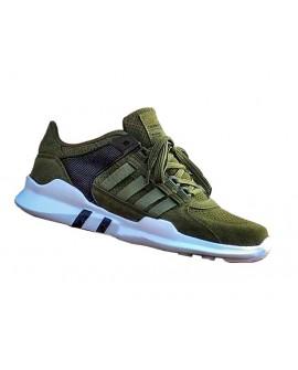 Yazlık  Haki Renk Boy Uzatan Spor Ayakkabı +7 Cm