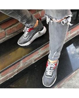 Boy Uzatan Spor Ayakkabı Gri