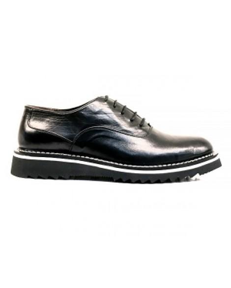 Gizli Topuklu Erkek Ayakkabısı Mat Deri