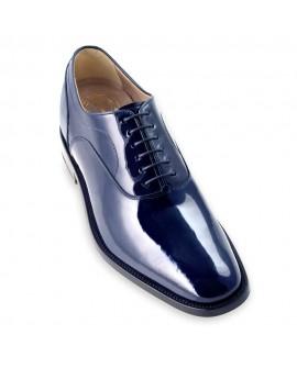 Boy Uzatan Damat Ayakkabısı Lacivert Model Rugan