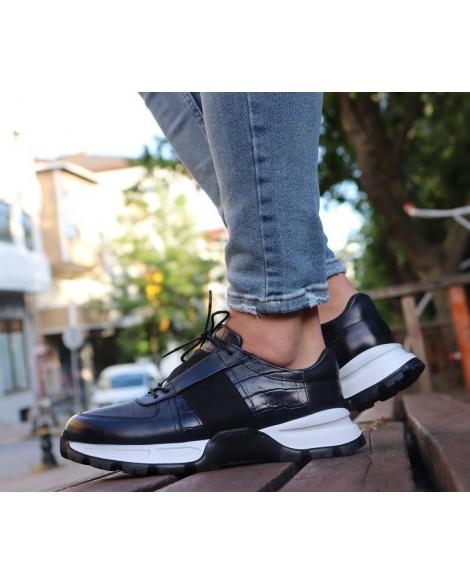Boy Uzatan Ayakkabı Lacivert Yalık