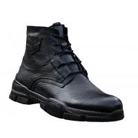 Boy Uzatan Bot Ayakkabı Siyah Model Kışlık