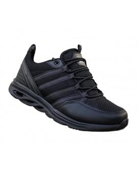 Siyah Boy Uzatan Ayakkabı