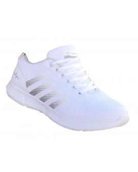 Yazlık  Beyaz Boy Uzatan Spor Ayakkabı +7 Cm