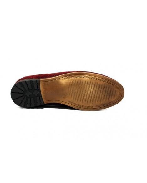 Özel Tasarım Boy Uzatan Ayakkabı Bordo